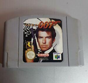 Nintendo 64 Spiel James Bond 007 GoldenEye N64 - Baesweiler, Deutschland - Nintendo 64 Spiel James Bond 007 GoldenEye N64 - Baesweiler, Deutschland