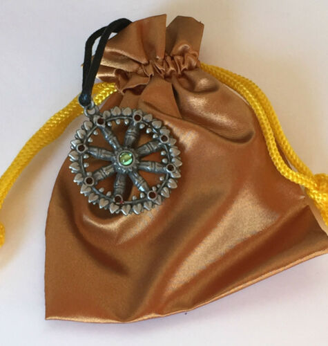 Dharma Rad Achtfach Path Dornstrauch Dharma Zinn Symbolisch Anhänger Charme