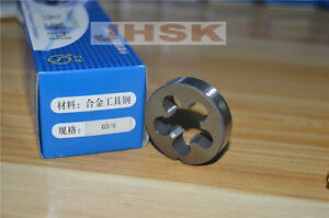 "New 1pc G 3//8/"" 19 TPI BSP Parallel British Standard Pipe Die G3//8"