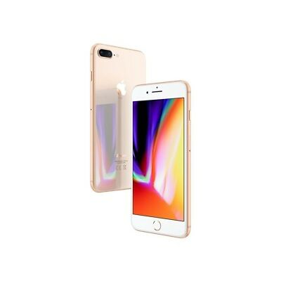 "Apple iPhone 8 Plus 64GB Gold LTE IOS Smartphone ohne Simlock 5,5"" Display 12MPX"