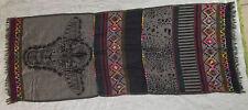 CODELLO TRAUM XXL Schal - mehrfarbig - grob bestickt - 50% Wolle - LUXUS