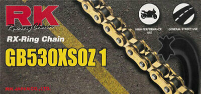 RK Racing Chain 530XSOZ1-88 Steel 88-Links RX-Ring Chain with Connecting Link