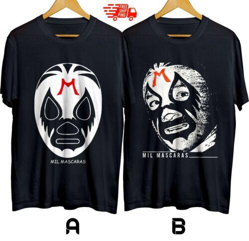 Mil Mascaras Wrestler Mexican Luchador T-shirt Cotton 100/% S-XL Free Shipping