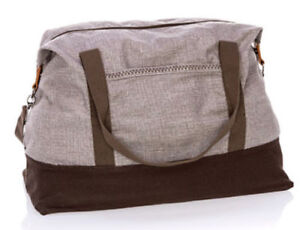 Thirty-one-Retro-Metro-Weekender-travel-gym-Duffel-bag-31-gift-Mocha-Crosshatch