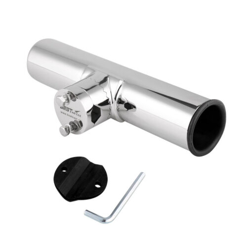 25mm Edelstahl Rutenhalter 360° Rotierbar Angelrutenhalter für Rails 19mm