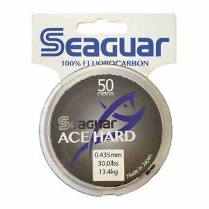SEAGUAR ACE HARD   100/% FLUOROCARBON TIPPET