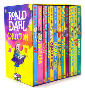 Roald-Dahl-Collection-15-Paperback-Books-Classic-Kids-Gift-Box-Stories-Set-New