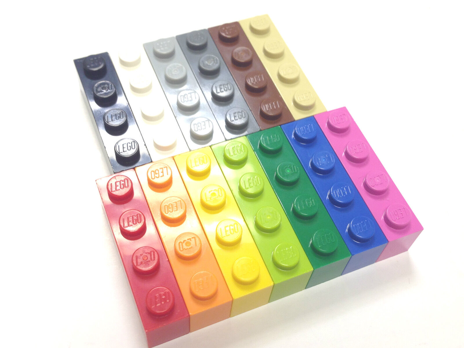 lego 1x4 brick 3010 choose colour and pack size