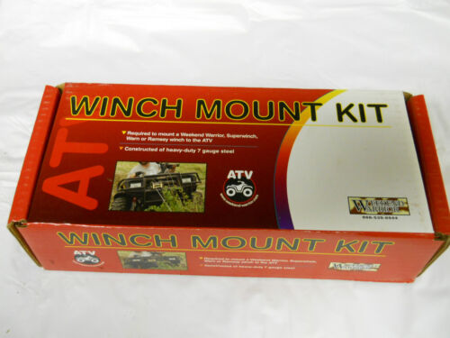 New in Box WEEKEND WARRIOR ATV Winch Mount Kit #75-4920