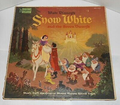 134731 Disney Vintage Vinyl Snow White /& 7 Seven Dwarfs Record Pin Of The Month