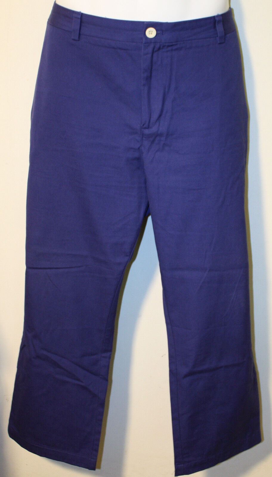 VINEYARD VINES Royal Cadet bluee Cotton Slim Fit Breaker Pants 40 x 27