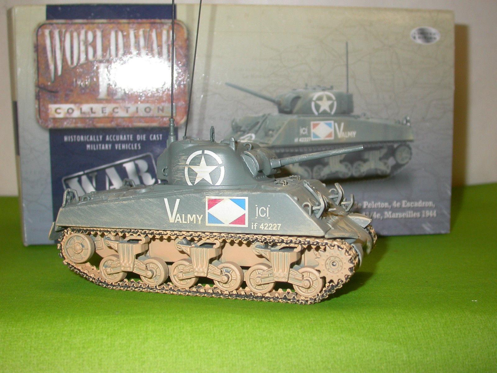 CORGI MILITAIRE CHAR SHERMAN M4 A2 MARSEILLE 1944