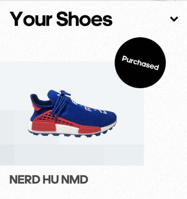 Pharrell x NERD x Adidas nmd Hu, Sports, Athletic & Sports