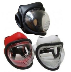 Kudo-Full-Face-Mask-Head-Guard-Martial-Arts-Weapons-Helmet-Training-Krav-Maga