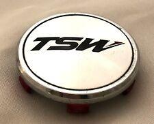 SET OF 5 TSW Wheels Chrome Custom Wheel Center Caps # C-C43-1