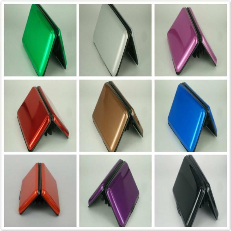 Wallet Credit Card Holder Case Blocking Anti-magnetic Cards Organizer Box SA