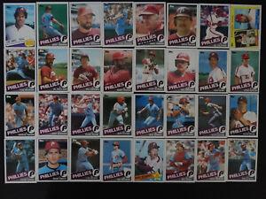1985-Topps-Philadelphia-Phillies-Team-Set-of-32-Baseball-Cards