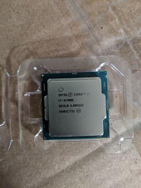 Intel Core i7-6700K 8M Skylake Quad-Core 4.0 GHz LGA 1151 91W BX80662I76700K