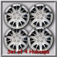 Set 4 16 Silver Chevy Chevrolet Impala Hubcaps 2000-2010 Wheel Covers Replica