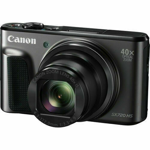 Canon Powershot Sx720 Hs Cmos Compact Digital Camera Black For Sale Online Ebay
