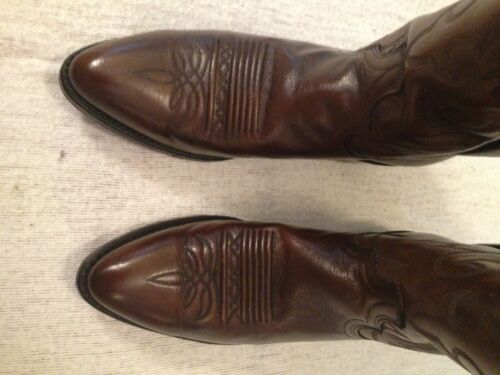 Size 9 Dan Post All Leather Western Boots
