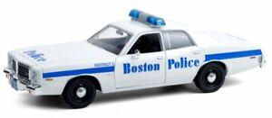DODGE Coronet - 1976 - Boston Police - Greenlight 1:24