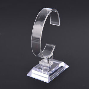wrist-watch-display-rack-holder-sale-show-case-stand-tool-clear-plastic-new