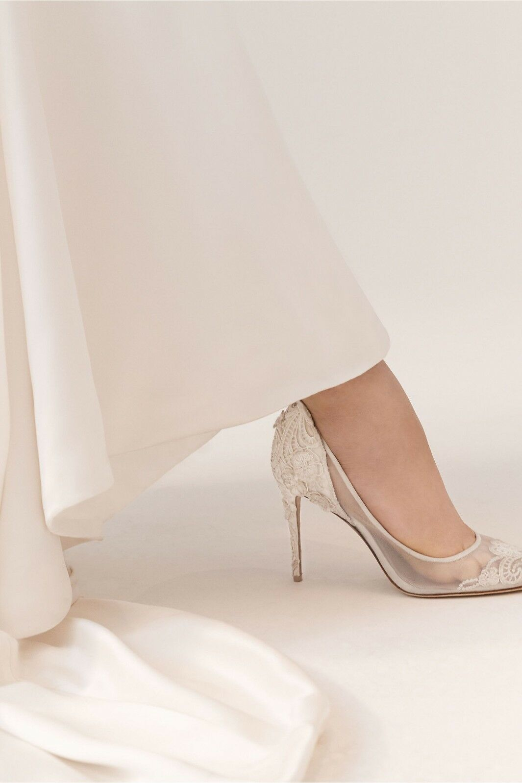 BHLDN Vince Camuto Imagine Victoria Heels Weiß Wedding Lace Lace Lace Bridal Sz 8.5 38.5 db7eac