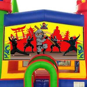 Strange Details About Ninja Art Panel 13X13 Inflatable Modular Bounce House Detachable Vinyl Home Interior And Landscaping Ferensignezvosmurscom