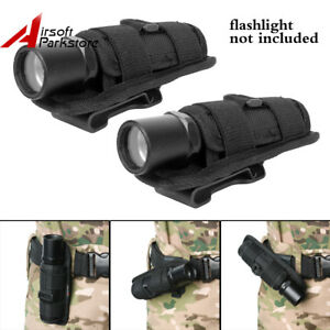 2pcs-Tactical-Rotatable-Belt-Clip-Flashlight-Holster-Pouch-for-SureFire-G2-G3-6P