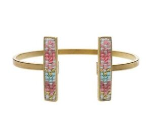 Cuff-Bangle-24-Carat-Gold-Plated-Or-999-Pure-Silver-Plated