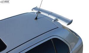 RDX-Dachspoiler-SKODA-Fabia-1-Typ-6Y-Heckspoiler-Heck-Dach-Spoiler-Fluegel-hinten