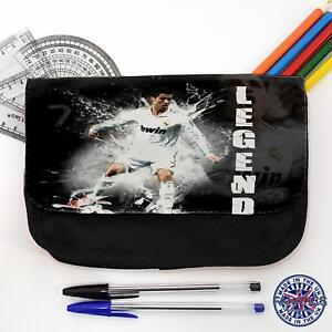 Ronaldo Real Football Pencil Case Children s School Boys Black ... 04487e3b1b
