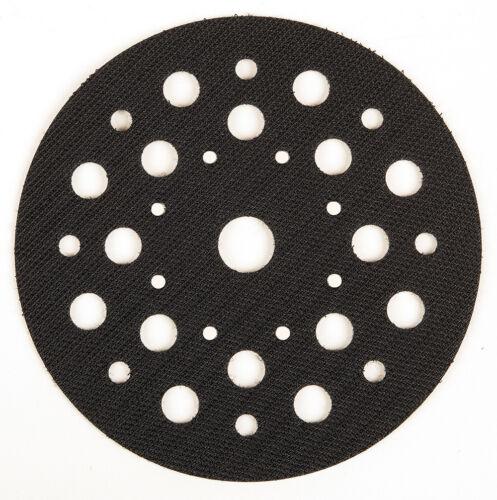 1 protection tirage Mirka pour ø125 mm assiette ø 125 mm velcro trou 8-9-17 Abranet
