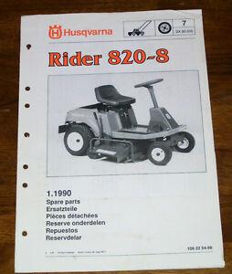 husqvarna rider manuals