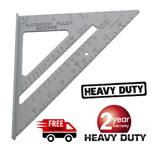 """SPEED SQUARE//ROOFING//RAFTER ANGLE TRIANGLE GUIDE QUICK MEASURE 6/""""ALUMINIUM ALLOY"""