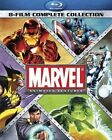 Marvel Animated Features 8 Film Complete Coll BLURAY
