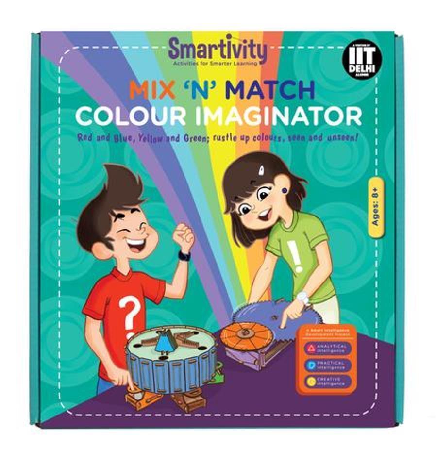 Age 8+ Science Kit DIY Smartivity Mix 'N' Match Colour Imaginator