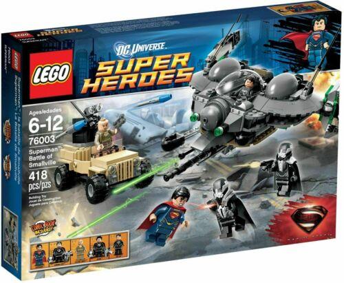 Univers Lego Dc Super Heroes Superman Bataille de Smallville (76003) - Nouveau 5702014972681