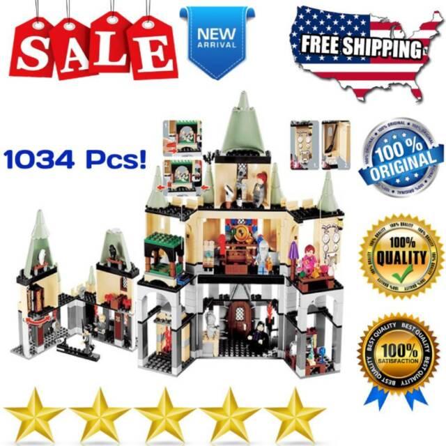 Building Blocks   Harry Hogwarts Castle 1034PCS without box