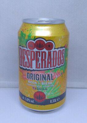 Empty 2019 Ed Desperados Tequila Flavoured Beer Can 330 Ml 11 2 Fl Oz Croatia Ebay