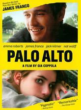 Palo Alto DVD, James Franco, Emma Roberts, Jack Kilmer, Gia Coppola