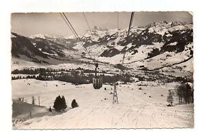 Suisse-cpsm-MEGEVE-La-funivia-della-Monte-Arbois-A3098