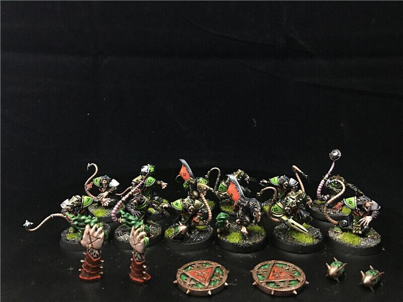 25mm Boxed Games Games Games Blood Bowl DPS Painted Skavenblight Scramblers AP6964 45ee02