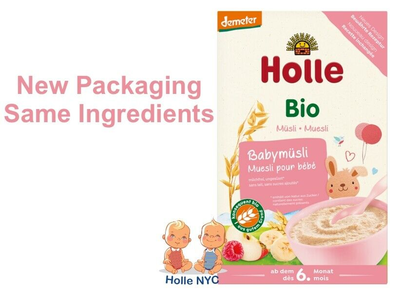 Holle Organic Porridge Baby Cereal Muesli 250g Free Shipping