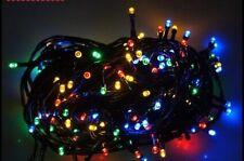 Blink LED 100er Lichterkette BUNT, 10 Meter ,Baumschmuck,Weihnachtsbeleuchtung