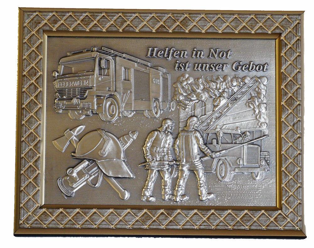 Pokale Pokal Wandplakette Wandplakette Wandplakette Ehrentafel Feuerwehr c17073