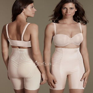 fc15572dfdac7 Ladies Ex M S Firm Control Magicwear Geometric Waist   Thigh Cincher ...