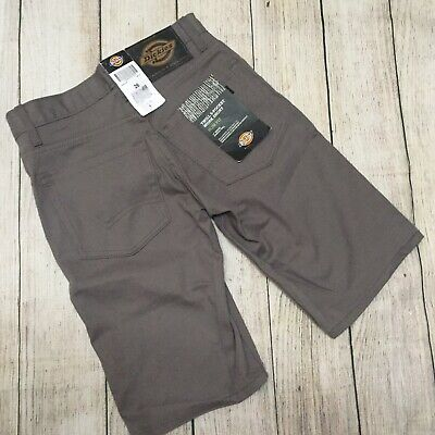 Dickies Mens 11 Inch Relaxed-Fit Stretch-Twill Work Short