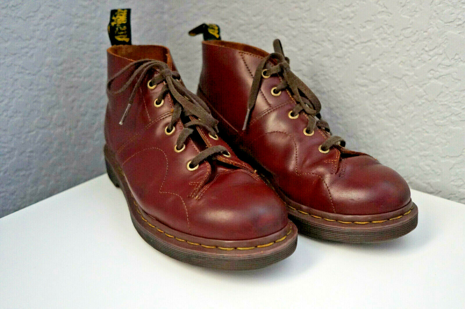 Male Panda cartella  Dr. Martens Church Monkey Boot 4 M Oxblood Vintage Smooth for sale online |  eBay